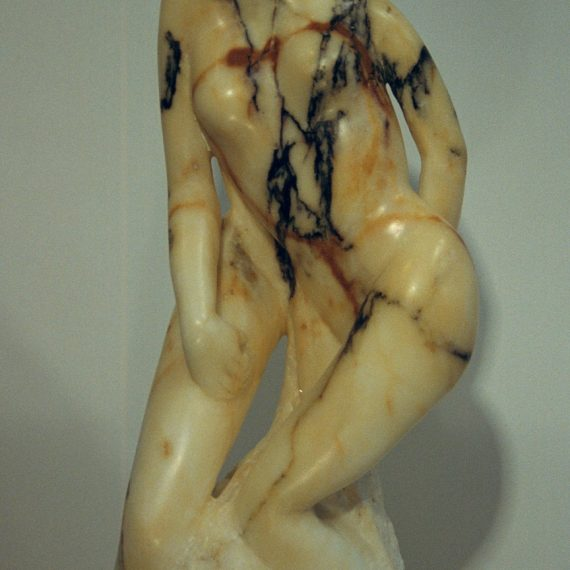 Two Muses (Marble)