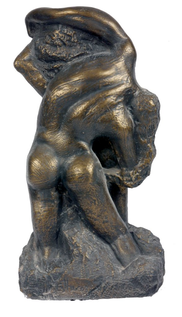 The birth of Eve (Bronze) - Rear View
