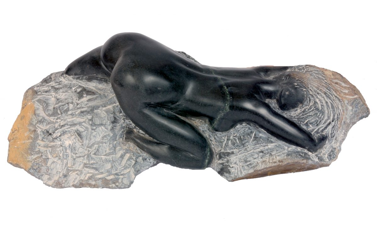 Reclining Figure (African Serpentine)