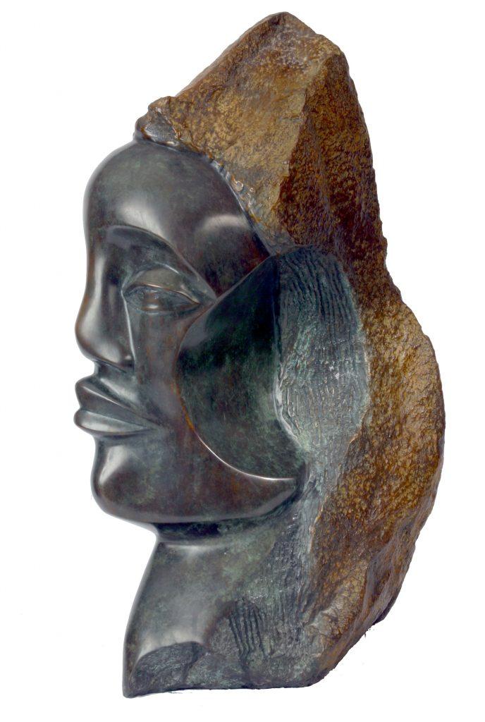 Hagar (African Serpentine) -Side view