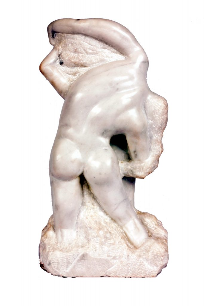 The Birth of Eve (Marble) - Rear View