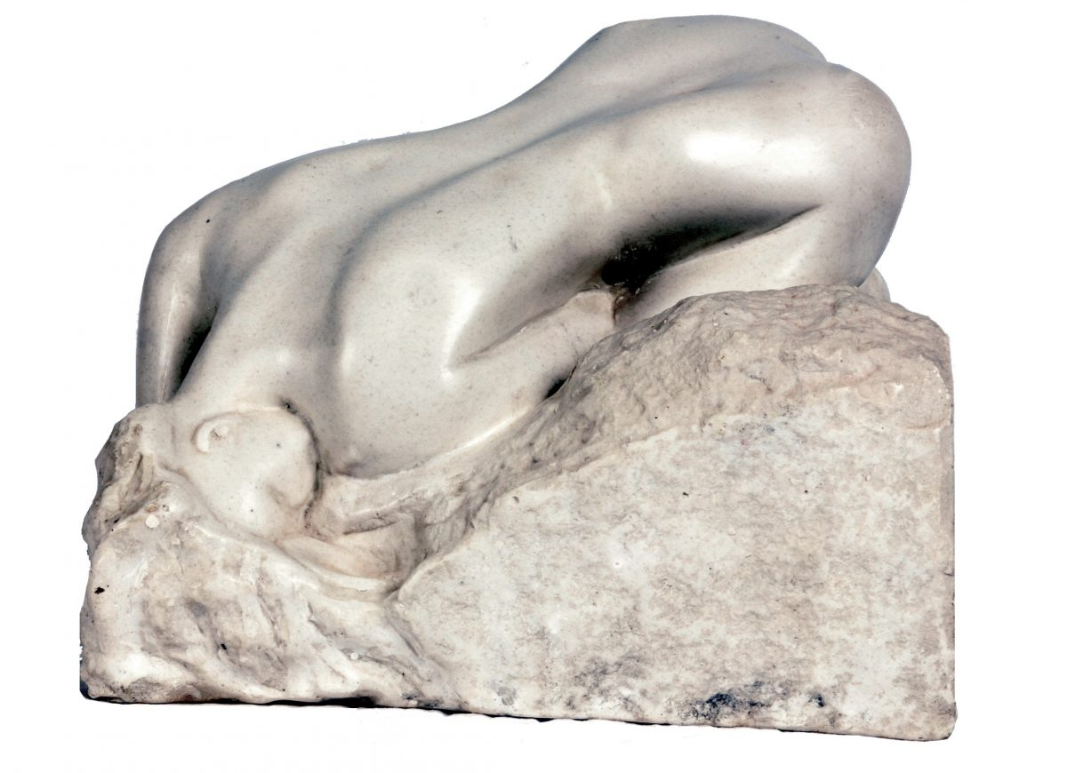 Danaid – after Rodin  (Marble)